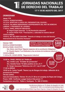 AFICHE Jornadas Nacionales de derEcho de Trabajo 02