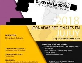 AFICHE JORNADAS REGIONALES LABORAL